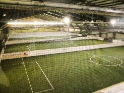 Drei Soccer Plätze